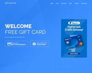 PayPal $1000 Gift Card