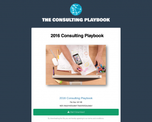 The Consulting Playbook