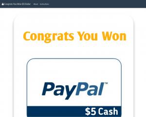 $100000 PayPal  Cash