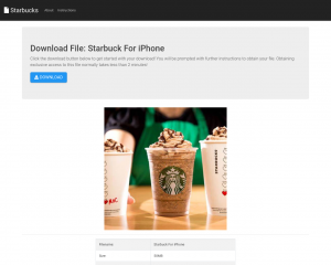 Starbuck For iPhone