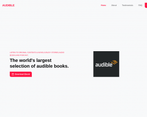 Audible ebook