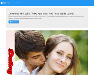 Dating Do's And Don'ts