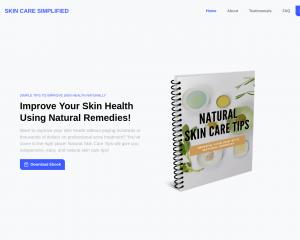 Natural Skin Care Tips eBook Free Download