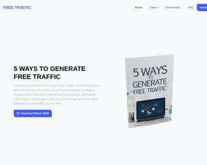 5 Ways to Generate Free Traffic