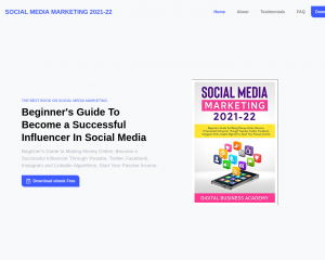 Social Media Marketing 2021-22