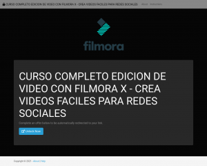CURSO COMPLETO EDICION DE VIDEO CON FILMORA X - CREA VIDEOS FACILES PARA REDES SOCIALES