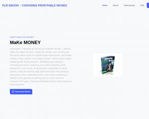 PLR eBook – Choosing Profitable Niches