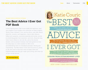 Katie Couric - The Best Advice I Ever Got