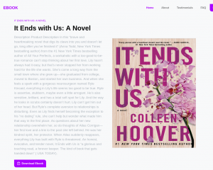 It Ends with Us PDF By Colleen Hoover free download