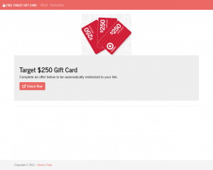 GET A FREE TARGET GIFT CARD