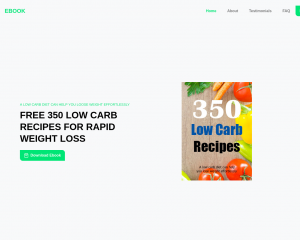 350 Low Carb Recipes For Fast Weight Loss