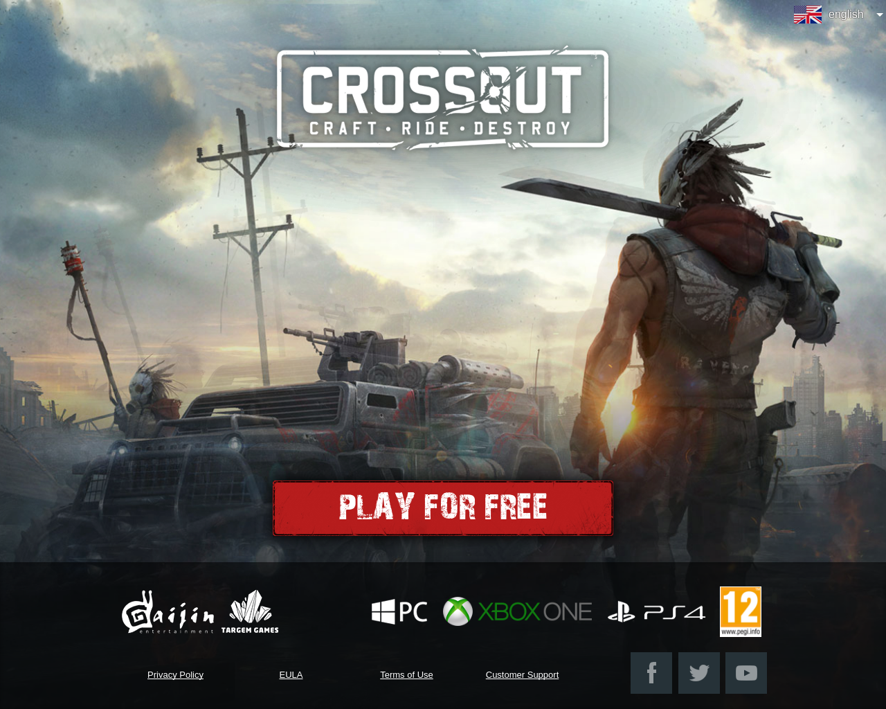 Play CROSSOUT FREE!