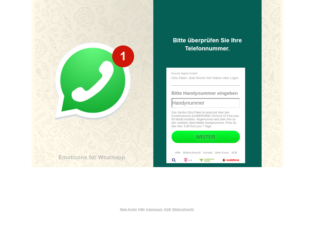 Get WhatsApp Verification